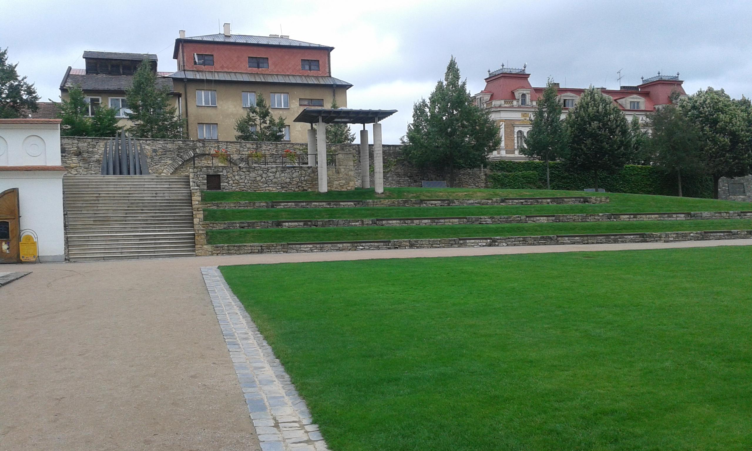 Klášterní zahrady Litomyšl