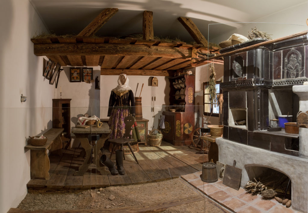 Selská světnička muzeum Bechyně