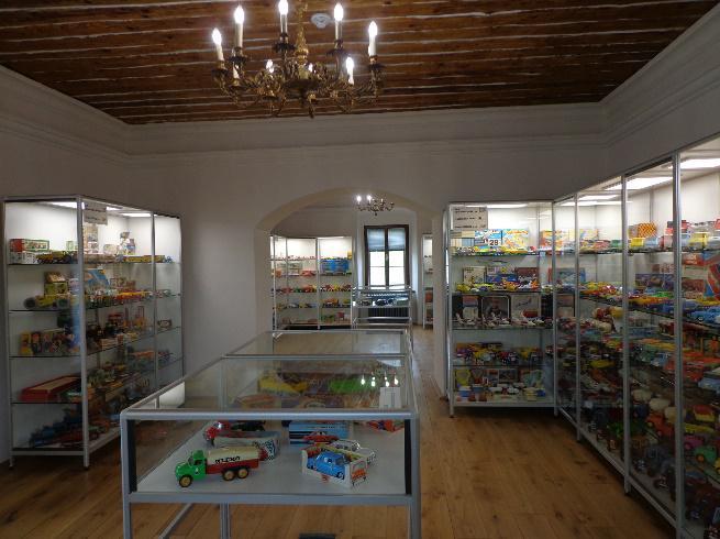 Muzeum aut a hraček Brtnice