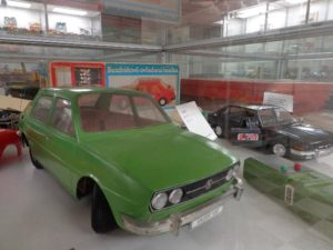 škoda 120 LS v muzeu autíček Brtnice