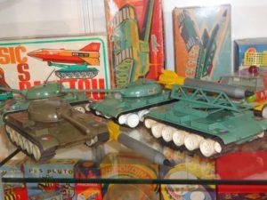 tanky v muzeu v Brtnici
