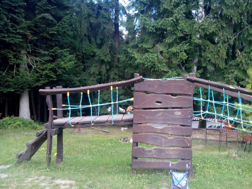 dětské hřiště Andrlův Chlum