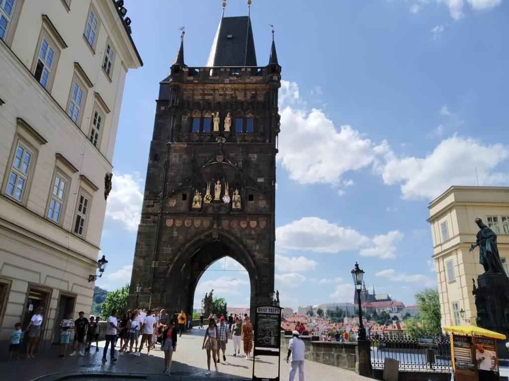 Mostní věž Karlův most Praha